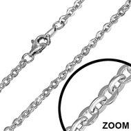 Ketting zilver - Anker (19)
