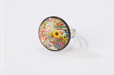 Paradiso Collectie rond porseleinen ring