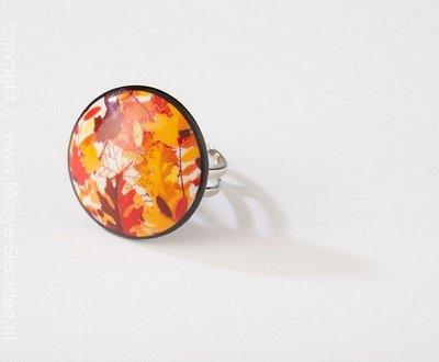 Louisiana Collectie rond porseleinen ring