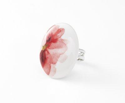 Amsterdam Collectie ovaal porseleinen ring
