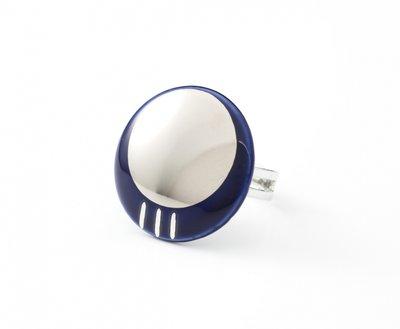 Oriënt Collectie rond porseleinen ring