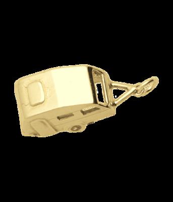 Gouden Caravan ketting hanger