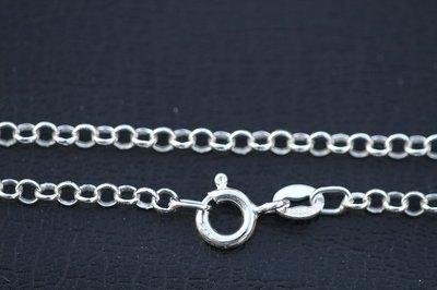 Zilveren Jasseron bedelarmband - 2. middel - 3,3 mm - 15/17/21 cm