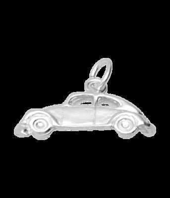 Zilveren VW Kever zijzicht ketting hanger
