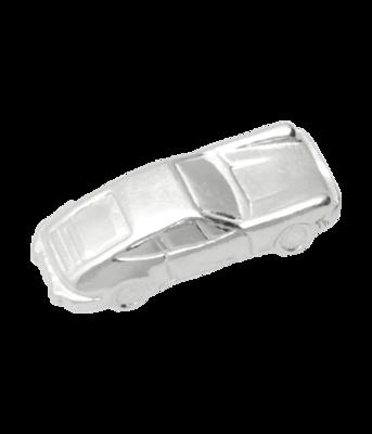 Zilveren Porsche ketting hanger