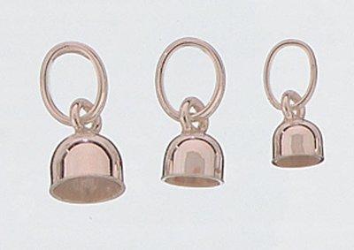 Zilveren Melk tand houder 5mm ketting hanger