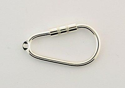 Zilveren Sleutelhanger type 1