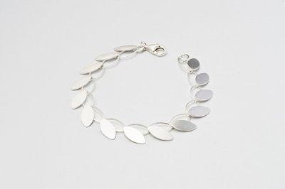 Zilveren design armband Adelia 19 cm