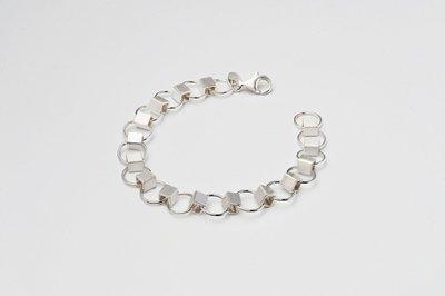 Zilveren design armband Cadencia 19 cm