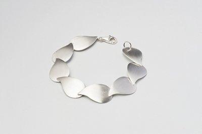 Zilveren design armband Cadis 19 cm