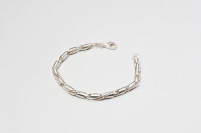 Zilveren design armband Cadence 19 cm
