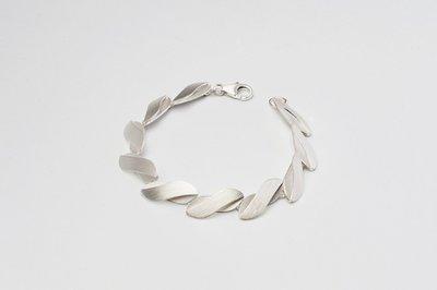 Zilveren design armband Caelyn 19 cm