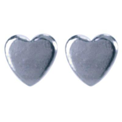 Zilveren Hartje Oorstekers