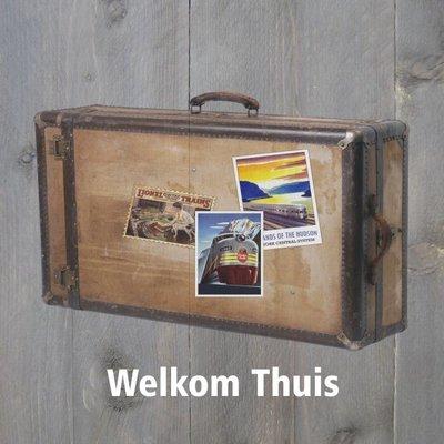 "Wenskaart ""Welkom thuis"""