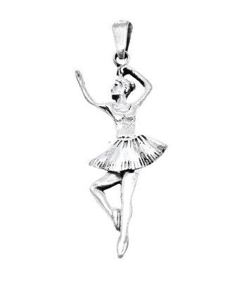 Zilveren Danseres kettinghanger