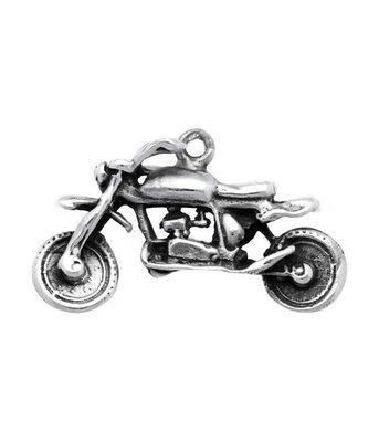 Zilveren Motor groot kettinghanger