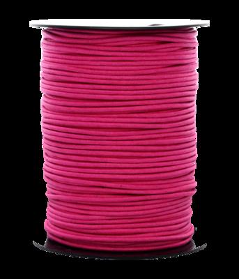 Waskoord 2.0 mm. donker roze waxkoord - per 10 meter