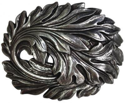 Mooye Gesp Bladeren  -  te combineren met riem breedte 4 cm