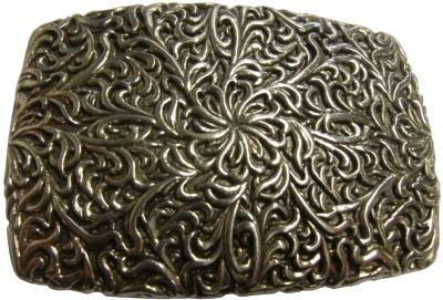 Mooye Gesp Bloemenkrans  -  te combineren met riem breedte 4 cm