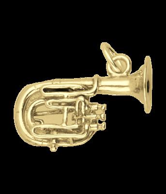Gouden Bariton ketting hanger