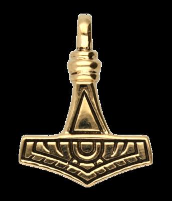 Hamer van Thor 2 ketting hanger - brons