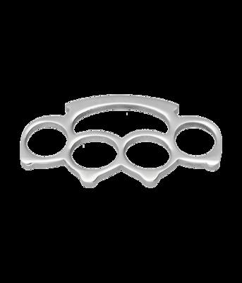 RVS Boksbeugel XL ketting hanger - edelstaal
