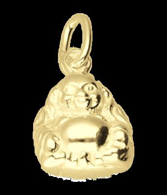 Gouden boeddha ketting hanger