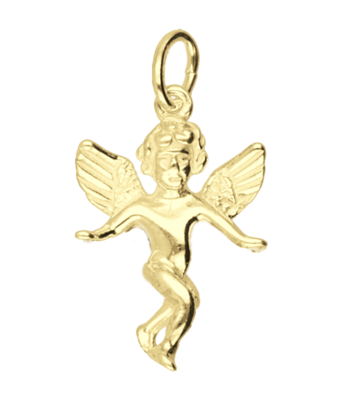 Gouden Engel ketting hanger