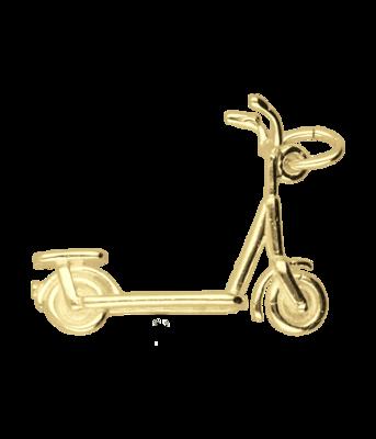 Gouden Step kettinghanger
