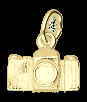 Gouden Fototoestel - Fotocamera klein ketting hanger