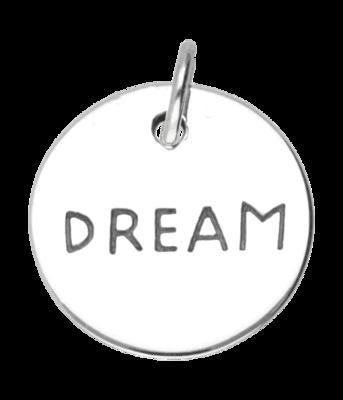 Zilveren Dream kettinghanger