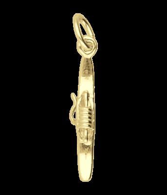 Gouden Weefspoel kettinghanger
