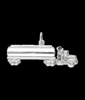 Zilveren Vrachtwagen XL kettinghanger
