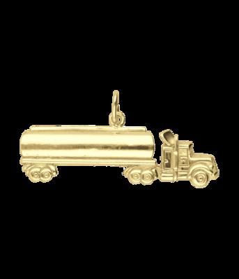 Gouden Vrachtwagen XL kettinghanger