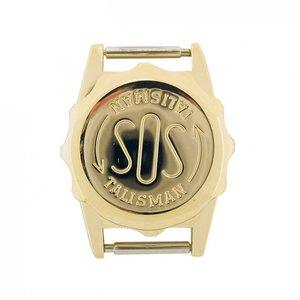 Vergulde SOS Talisman horloge - 12mm