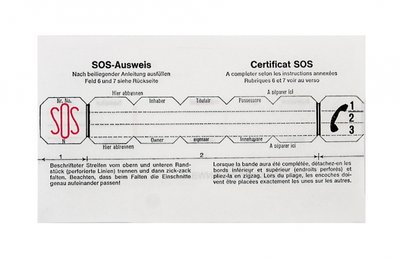 SOS Talisman Alarmpas