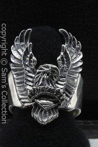 Zilveren Adelaar Amerika ring